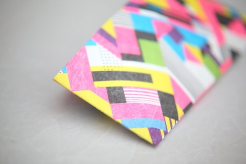 Imagen de Billetera de papel Tyvek® - by Monkey Wallets® - Fluo