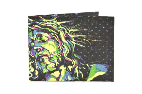 Carteira de papel Tyvek® - by Monkey Wallets® - Jesus