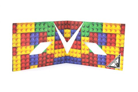 Carteiras de Papel Tyvek® - Monkey Wallets® - Lego na internet