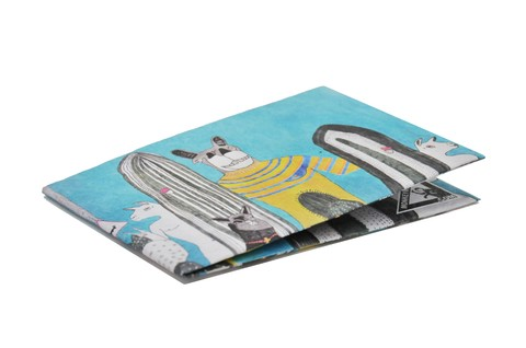 Billeteras de Papel Tyvek® - Monkey Wallets® - Llama - comprar online