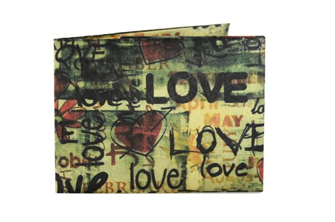 Tyvek® Wallet - by Monkey Wallets® - Love - buy online