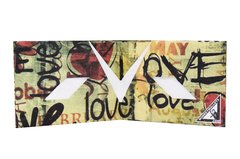 Tyvek® Wallet - by Monkey Wallets® - Love on internet