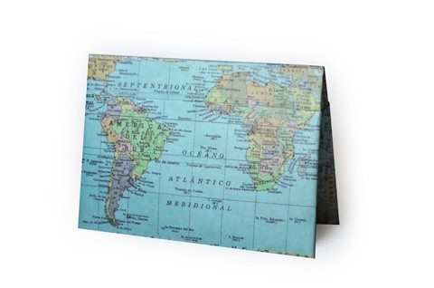 Passport Case - Map