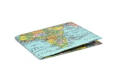 Carteira de papel Tyvek® - by Monkey Wallets® - Mapamundi - comprar online