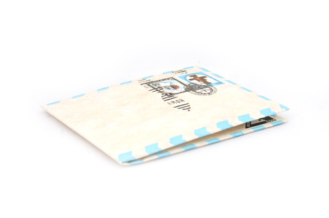 Billetera de papel Tyvek® - by Monkey Wallets® - Airmail Papa - comprar online