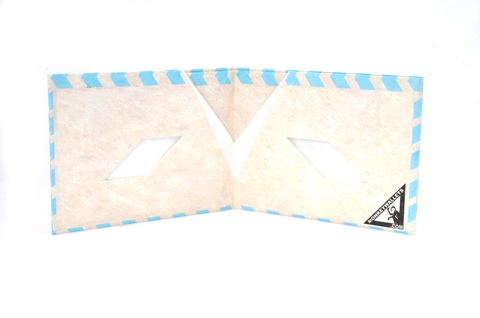 Billetera de papel Tyvek® - by Monkey Wallets® - Airmail Papa en internet