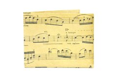 Carteira de papel Tyvek® - by Monkey Wallets® - Partitura