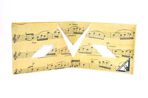 Tyvek® Wallet - by Monkey Wallets® - Partitura on internet