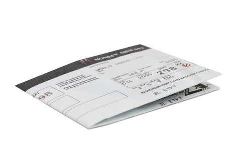 Carteiras de Papel Tyvek® - Monkey Wallets® - Boarding Pass - comprar online