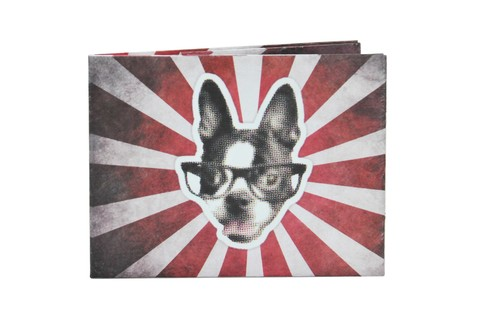 Carteiras de Papel Tyvek® - Monkey Wallets® - Perro