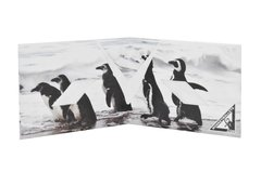Tyvek® Wallets - Monkey Wallets® - Penguins on internet