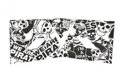 Tyvek® Wallets - Monkey Wallets® - Pirate on internet