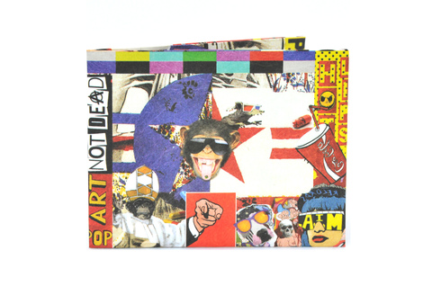 Billetera de papel Tyvek® - by Monkey Wallets® - Pop Art