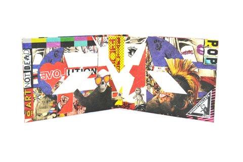 Tyvek® Wallet  by Monkey Wallets® - Pop Art II on internet