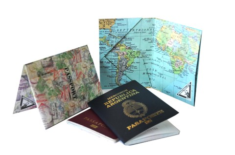Passport Cover - Stamps - buy online