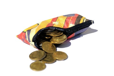 Purse for Coins by Monkey Wallets® - Retro - buy online