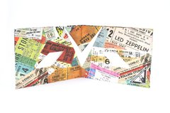 Carteira de papel Tyvek® - by Monkey Wallets® - Rock na internet