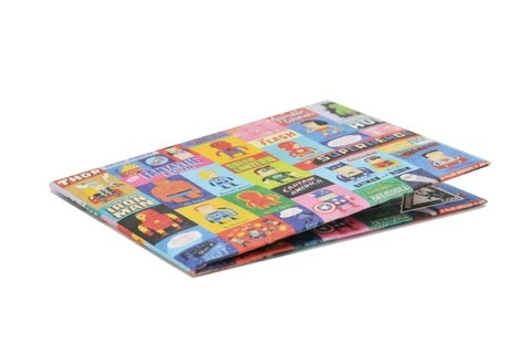 Carteiras de Papel Tyvek® - Monkey Wallets® - Superheroes - comprar online
