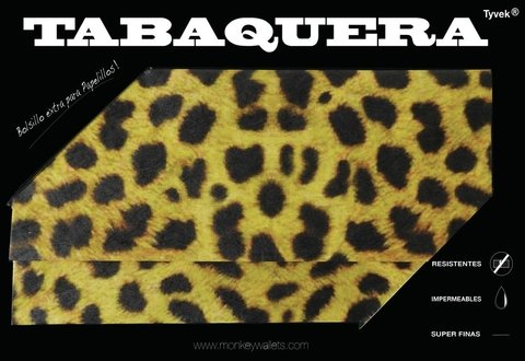 Tabaco Pouch - Leopard