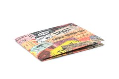Carteiras de Papel Tyvek® - Monkey Wallets® - Tickets - comprar online
