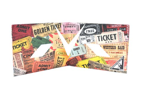 Billeteras de Papel Tyvek® - Monkey Wallets® - Tickets en internet