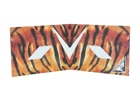 Tyvek® Wallets - Monkey Wallets® - Tiger on internet
