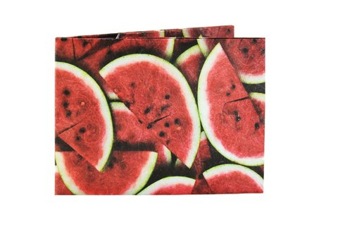 Tyvek® Wallet - by Monkey Wallets® - Watermelon - buy online