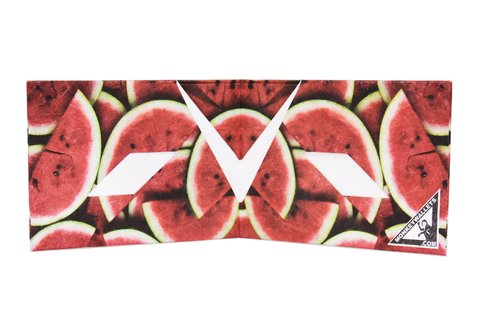 Carteira de papel Tyvek® - by Monkey Wallets® - Watermelon na internet