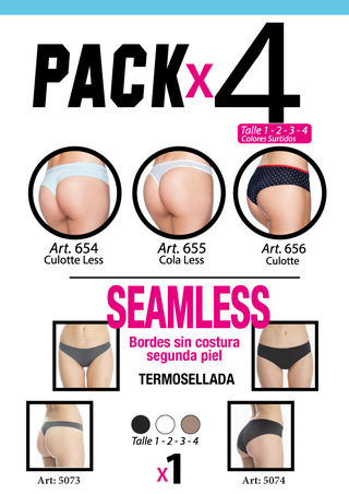 Packs de Bombachas! x4