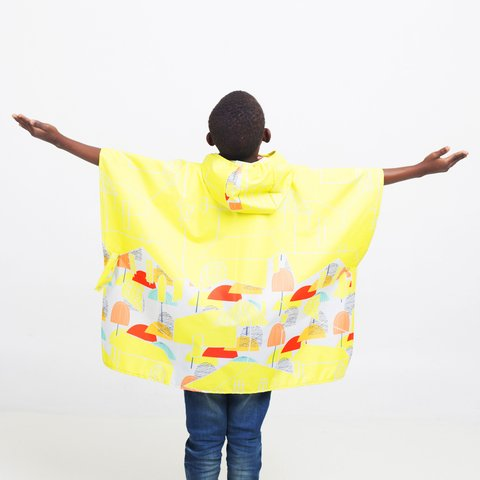 Mini Poncho Pocket City - tienda online