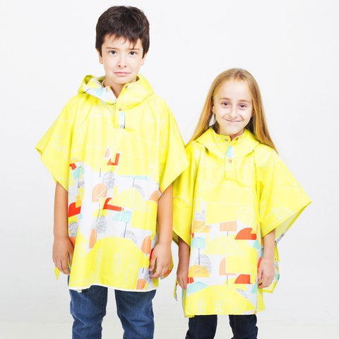 Mini Poncho Pocket City - comprar online