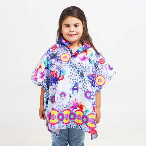 Mini Poncho Pocket Colombia - comprar online