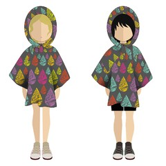 Mini Poncho Pocket Buena Onda - Cuarto Colorado
