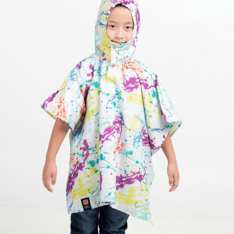 Mini Poncho Pocket Pintorcito - comprar online
