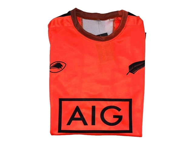 Remera running LIONS XV All Blacks orange - tienda online