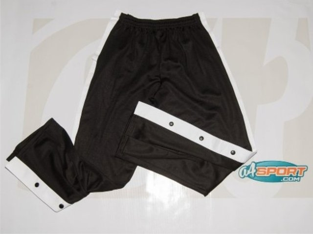 Pantalón largo desmontable TEAM FOOT negro
