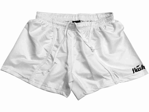 Short de rugby FLASH IRB14 blanco - comprar online