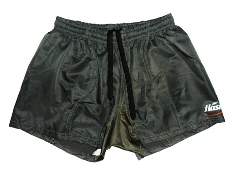 Short de rugby FLASH IRB14 verde