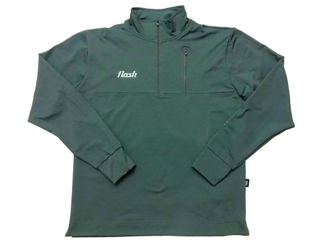 Buzo FLASH Training top verde - comprar online