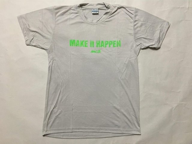 Remera salida MC3 Make it happen