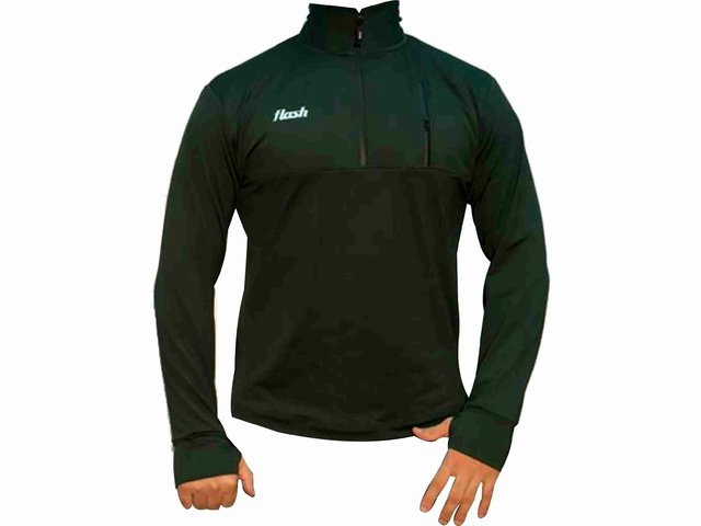 Buzo FLASH Training top verde en internet