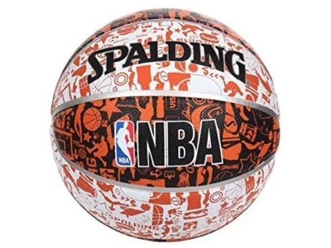 Pelota SPALDING NBA Graffiti orange en internet
