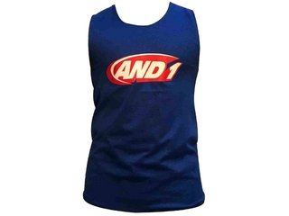 Camiseta reversible AND1 azul/negro