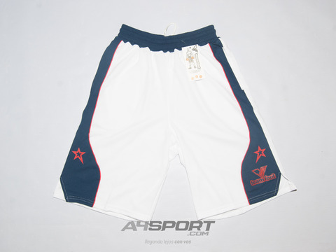 Short TEAM FOOT Londres blanco/marino