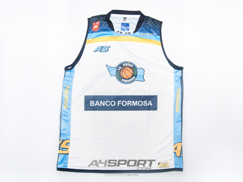 Camiseta A's La Unión de Formosa alternativa 2014/15