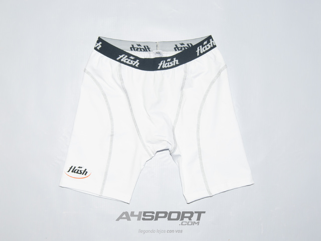 Bermuda FLASH Spandex FIT blanco - comprar online