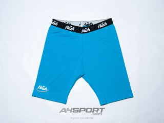 Calza FLASH Spandex celeste