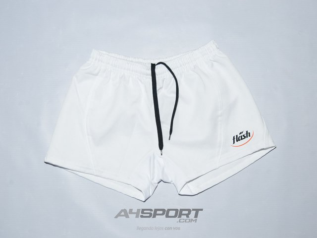 Short de rugby Flash IRB 011 blanco