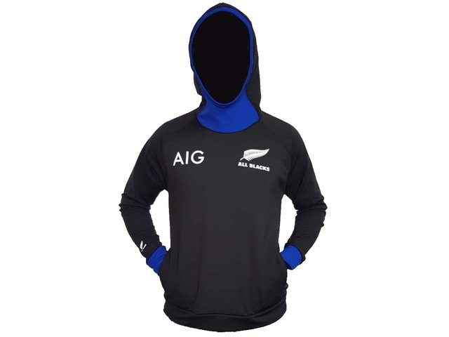 Buzo canguro IMAGO All Blacks negro