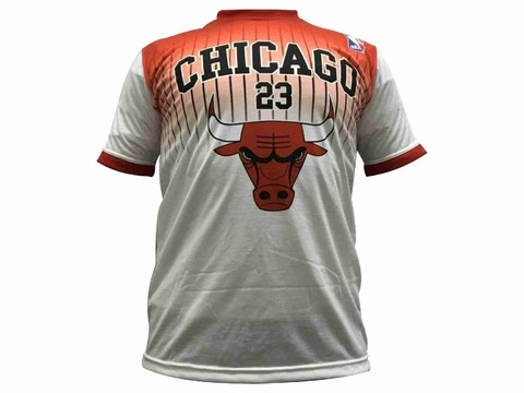 Remera de algodón NBA Chicago Bulls JORDAN en internet